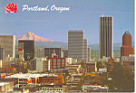 Skyline, Portland, Oregon Postcard