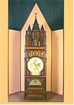 Hershey Museum, PA Apostolic Clock Postcard