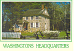 Valley Forge,PA Washingtons Headquarters Postcard