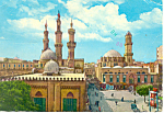 Click here to enlarge image and see more about item cs1010: Cario Egypt The Azar Mosque Postcard cs1010 1980