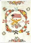 Click to view larger image of Details of Album Quilt Smithsonian  Postcard cs 10125 (Image1)