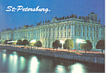 Click here to enlarge image and see more about item cs1012: St Petersburg,Russia Hermitage Museum Postcard