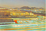 Click here to enlarge image and see more about item cs1019: Hong Kong at Night Postcard