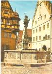 Click to view larger image of  Rothenburg Ob der Tauber Germany St Georg s Fountain cs10230 (Image1)