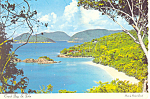 St John Virgin Islands Postcard 1978