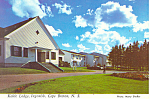 Click here to enlarge image and see more about item cs1060: Keltic Lodge, Nova Scotia,Canada Postcard