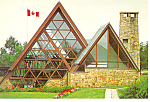 Click here to enlarge image and see more about item cs1061: Bell Museum, Nova Scotia,Canada Postcard