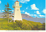 Lighthouse, Nova Scotia,Canada Postcard