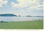 Click here to enlarge image and see more about item cs1069: Five Islands, Nova Scotia,Canada Postcard
