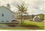 Click here to enlarge image and see more about item cs1073: Sherbrooke Village, Nova Scotia,Canada Postcard