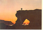 The Arch at Skarsvag, Norway Postcard