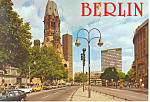 Berlin Germany Postcard cs1104