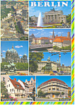 Views of Berlin Germany Postcard cs1105