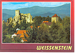 Click here to enlarge image and see more about item cs1111: Ruined Castle Weissenstein, Germany Postcard cs1111