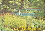Spa Gardens,Bad Nauheim, Germany Postcard