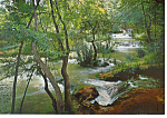 Monasterio de Piedra Spain Postcard cs1129