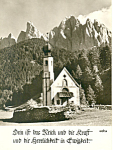 Little Church Germany Postcard cs1133