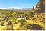 Caves Granada, Spain Postcard