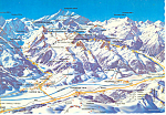 Click here to enlarge image and see more about item cs1152: Mountain Map, Austria Postcard