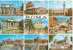 Click here to enlarge image and see more about item cs11608: Rome Italy in Nine Views Postcard cs11608