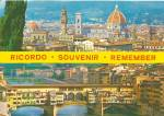 Ricordo Italy Air View Postcard cs11610