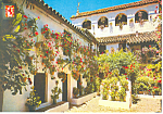 Courtyard Cordoba Spain Postcard cs1169