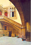Patio Interior Valencia Spain Postcard cs1182
