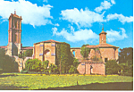 Older Church Monasterio de Piedra Spain Postcard cs1190
