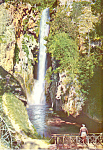 Waterfall,Monasterio de Piedra, Spain Postcard