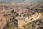 Click here to enlarge image and see more about item CS12216F: Cité de Carcassonn a medieval fortress in Carcassonne France Postcard CS12216F