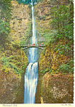 Multnomah Falls,Oregon Postcard