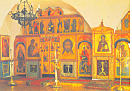 Click here to enlarge image and see more about item cs1237: Monastery of St Daniel, Moscow, Russia Postcard