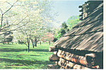 Valley Forge PA Maxwell Brigade Huts Postcard cs1249
