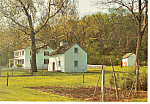 Hopewell Furnace Tenant Houses,PA Postcard