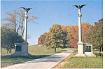 Valley Forge,PA, PA State Marker Postcard