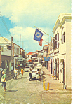 Main Street St Thomas Virgin Islands Postcard cs1259