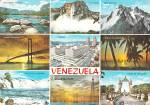 Click here to enlarge image and see more about item CS12629: Venezuela Multi Small Views Postcard CS12629