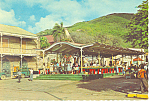 Open Market St Thomas Virgin Islands Postcard cs1263