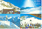 Zugspitze, Bavarian Alps, Germany Postcard