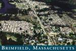 Click here to enlarge image and see more about item CS12736: Brimfield MA Aerial View of Flea Market Grounds Postcard CS12736