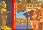 Click here to enlarge image and see more about item cs1281: Greeting From Egypt  Postcard cs1281
