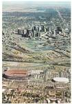 Click here to enlarge image and see more about item CS12840: Denver Colorado Mile High Stadium McNichols Arena Postcad CS12840