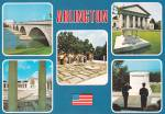 Click here to enlarge image and see more about item CS12959: Arlington National Cemetery Bridge Tomb of Unknown Postcard CS12959