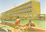 Click here to enlarge image and see more about item cs1316: Queen of Sheba Hotel, Eliat, Israel Postcard