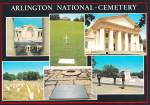 Click here to enlarge image and see more about item CS13205: Arlington National Cemetery  Mansion Tomb of Unknowns Postcard CS13205