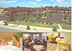 Bavarian Haus Motel Frankenmuth MI Postcard cs1323