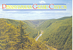 Click here to enlarge image and see more about item cs1325: Pennsylvania Grand Canyon  Postcard cs1325