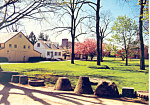 Landis Valley Museum Lancaster County PA Postcard cs1333