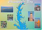 Click here to enlarge image and see more about item cs1338: Chesapeake Bay  Maryland Postcard cs1338