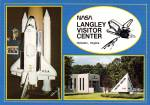 Click here to enlarge image and see more about item CS13410: Nasa Langley Visitor Center Hampton Virginia Postcard C13410